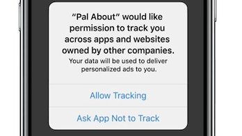 In iOS 14, Apple will require developers ask for permission to track users.