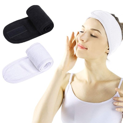 Lades Facial Spa Headband (2-Pack)