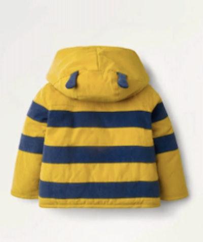 Cord Jacket - Honeycomb Yellow Bumble Bee