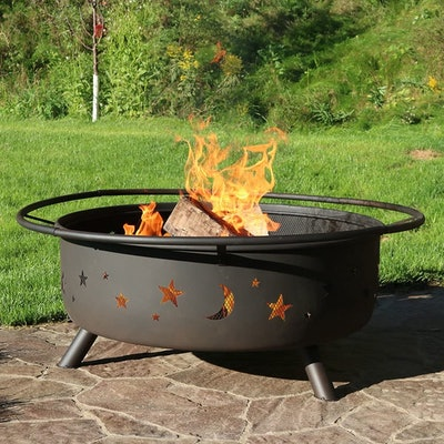 Sunnydaze 42-Inch Wood Burning Outdoor Fire Pit