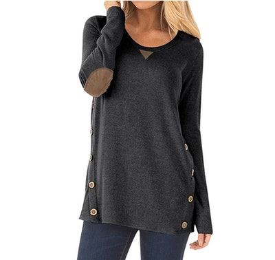 DEARCASE Side Button Tunic