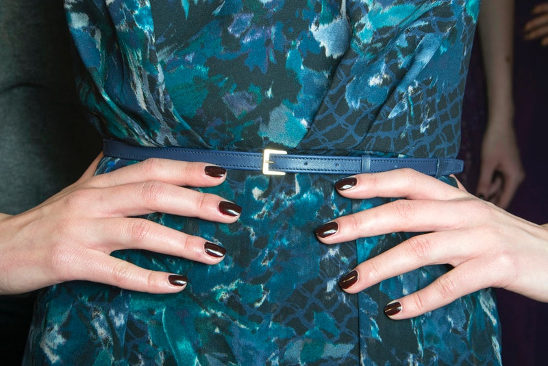 Brown nails are popping up on runways and celebrities social feeds as of late.
