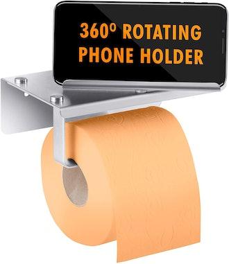 PIEKO Toilet Paper Holder with Shelf