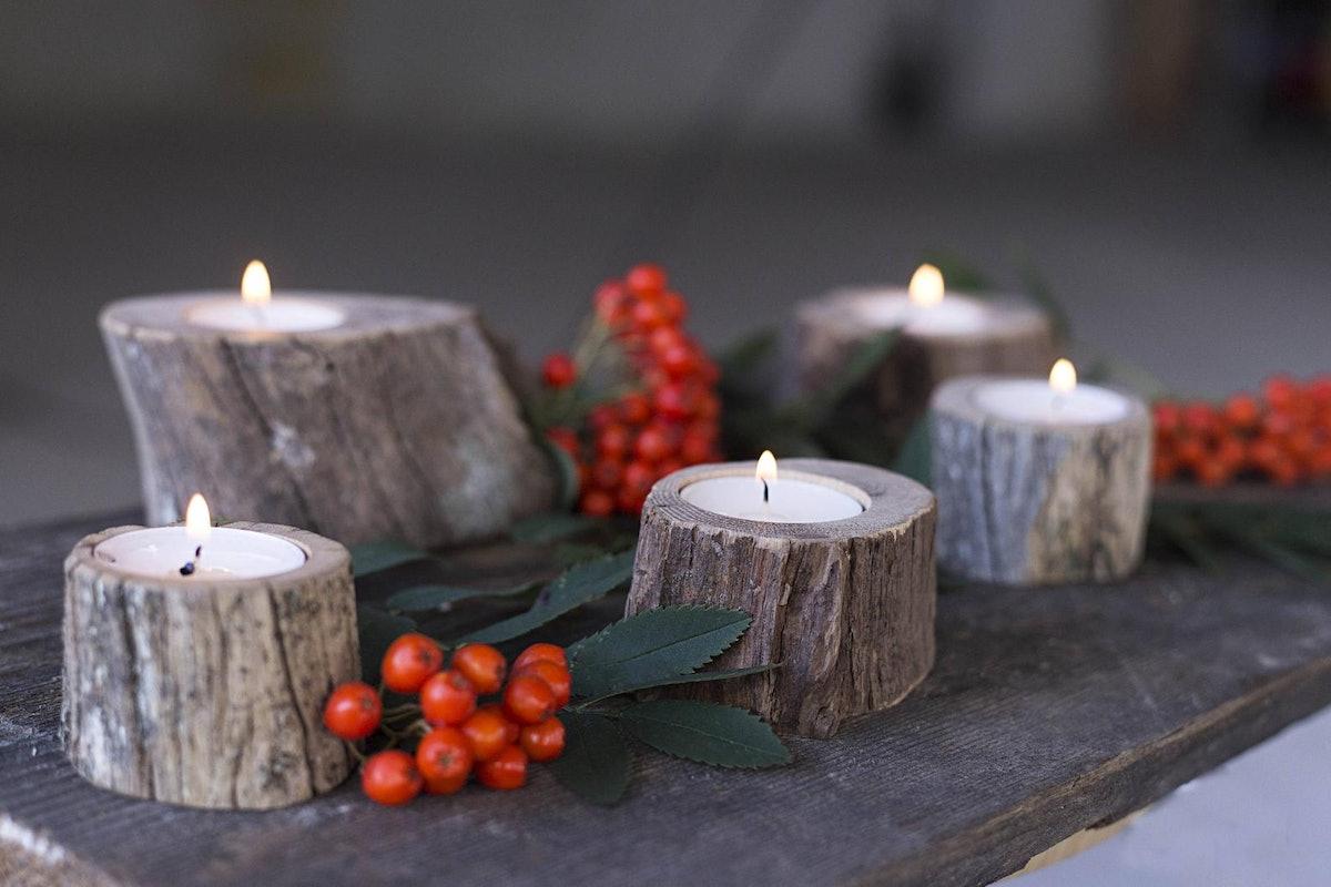 Set of 5 Assorted Tea Light Candle Holders