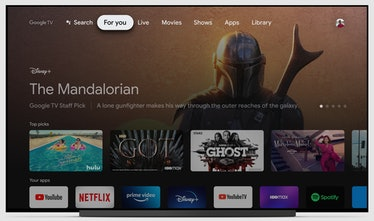 Chromecast with Google TV interface review