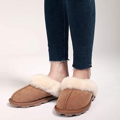 WaySoft Australian Sheepskin Slippers