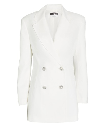 Fonda Double-Breasted Blazer Dress