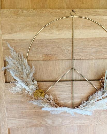 Large Peace Wreath