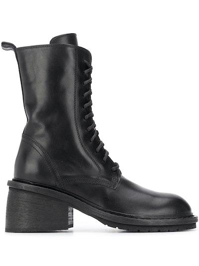 Chunky-Heel Combat Boots