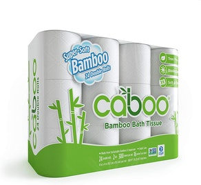 Caboo Tree Free Bamboo Toilet Paper (24-Pack)