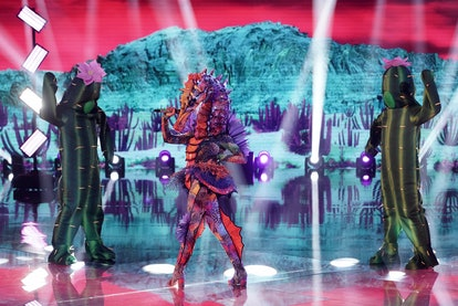 The Seahorse on 'The Masked Singer' Season 4 theories and clues.