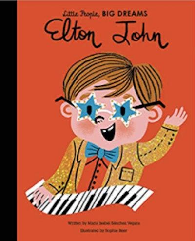 Elton John (Little People, Big Dreams) by Maria Isabel Sanchez Vegara