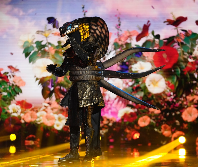 The Serpent in 'The Masked Singer' Season 4