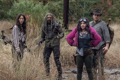 The Walking Dead introduces a new mystery group.