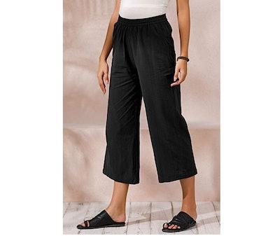 Ecupper Wide Leg Pants