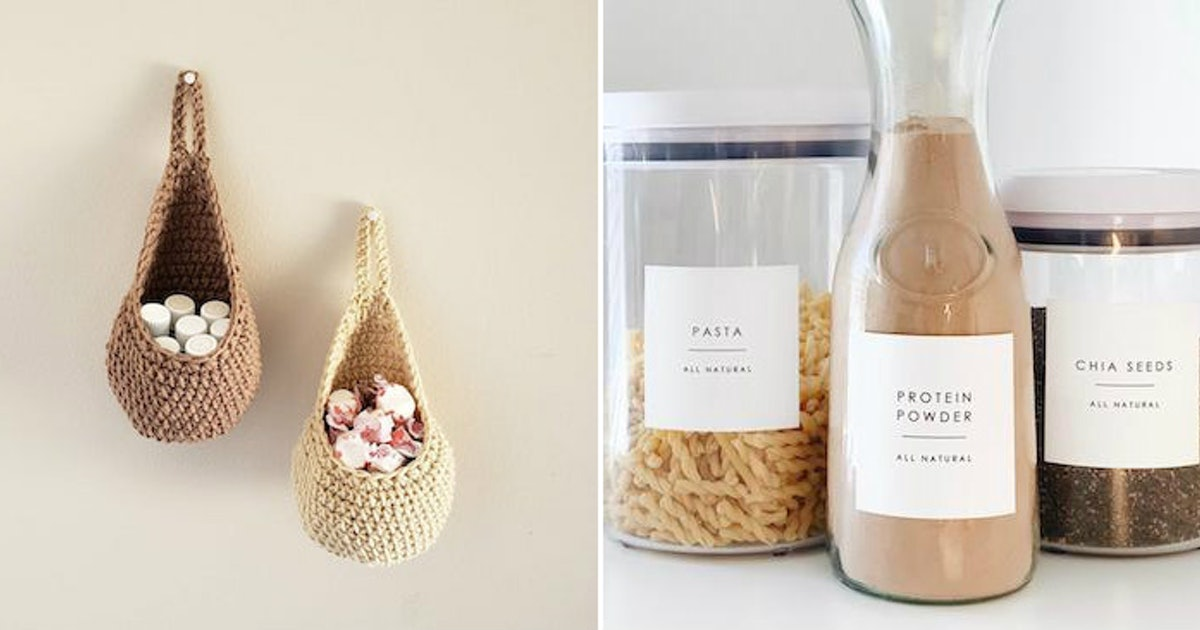 These Home Organization Products On Etsy Will Give Your Space A Fall Glow-Up