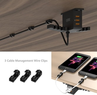 Cozoo Headphone Stand with USB Charger