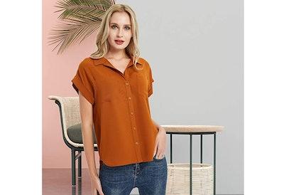 Basic Model Button Down Shirt
