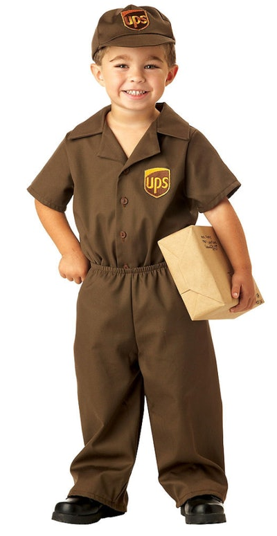 Toddler Boys UPS Driver Costume