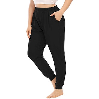 Gboomo Plus Size Casual Lounge Pants
