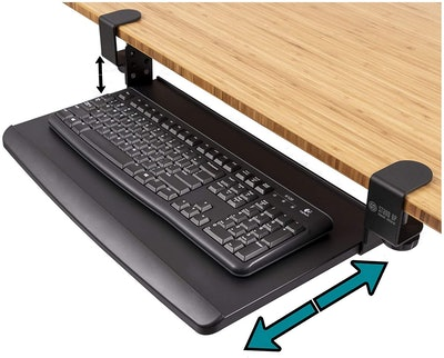 Stand Up Desk Store Retractable Keyboard Tray