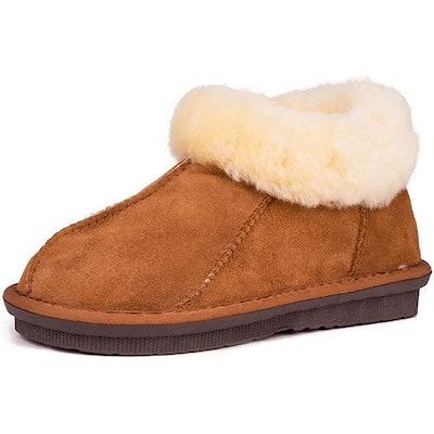 Warmie Australian Sheepskin Slipper Boots