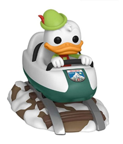 Funko Pop! Ride: Disney 65th - Donald with Matterhorn