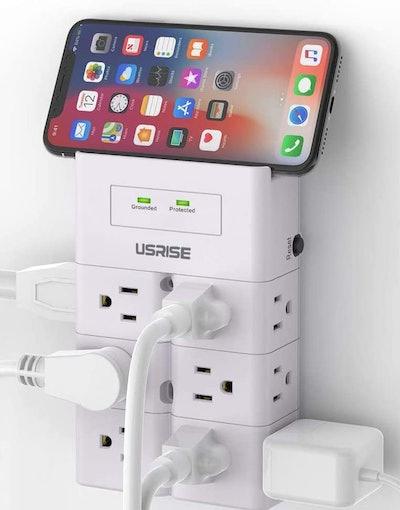 USRISE Multi-Plug Outlet Extender