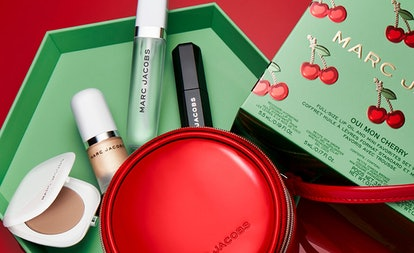 Oui Mon Cherry gift set from the Marc Jacobs Beauty Very Merry Cherry collection.