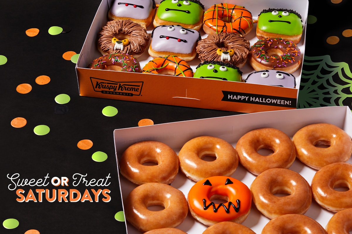 Krispy Kreme's 2020 Halloween donuts will be available starting on Oct. 5.