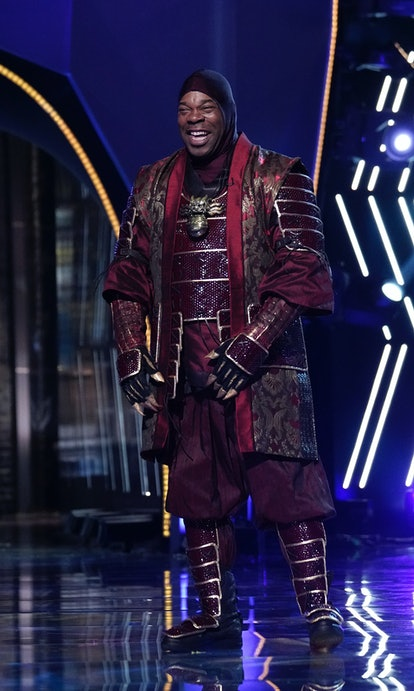 Busta Rhymes is revealed as The Dragon on 'The Masked Singer' Season 4.
