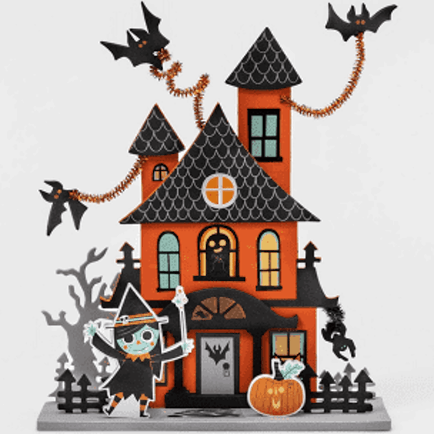 These little haunted house kits are perfect for those who love a little crafting action.