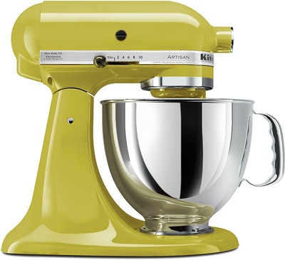 KitchenAid KSM150PSPE Artisan Series 5-Qt. Stand Mixer with Pouring Shield, Pear
