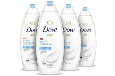Dove Gentle Exfoliating Body Wash (4-Pack)