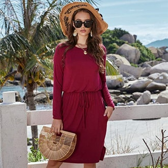 Simier Fariry Casual Midi Dress