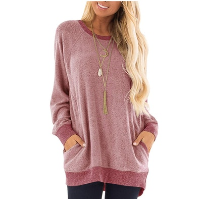 AUSELILY Tunic with Pockets