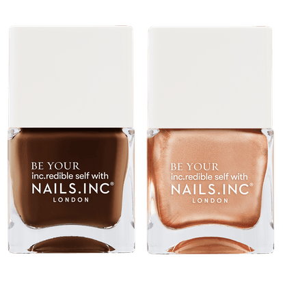 Coco for Real Chocolate-Scented Nail Polish Duo