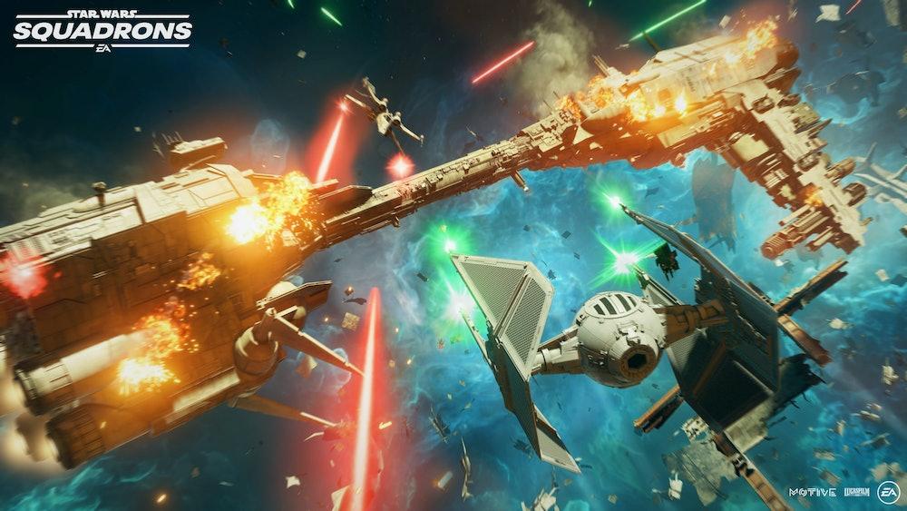 Star Wars starfighter Star Wars Squadrons PS4 Xbox PC