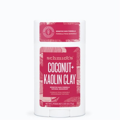Sensitive Skin Coconut+Kaolin Clay Natural Deodorant