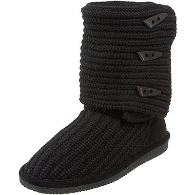BEARPAW Tall Knit Winter Boot