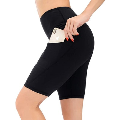 AUU High Waisted Workout Shorts