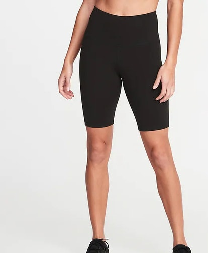 High-Waisted Elevate Compression Bermuda Shorts For Women - 8-Inch Inseam