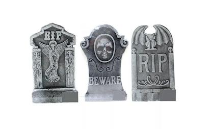 Halloween Tombstone Set of 3