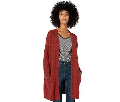 Goodthreads Shaker Stitch Cardigan Sweater