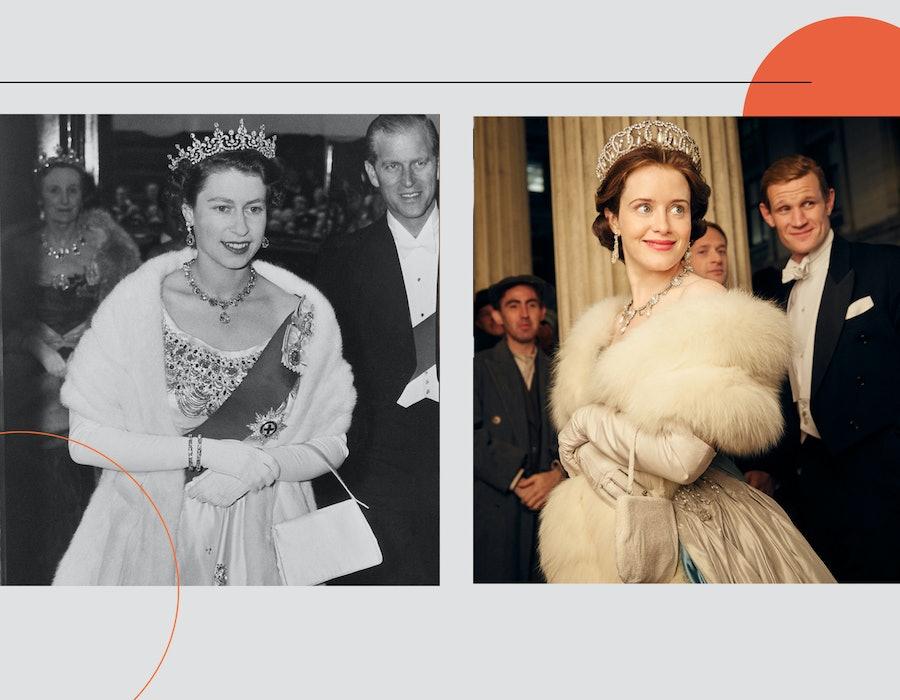 Queen Elizabeth Looks Recreated on Netflix