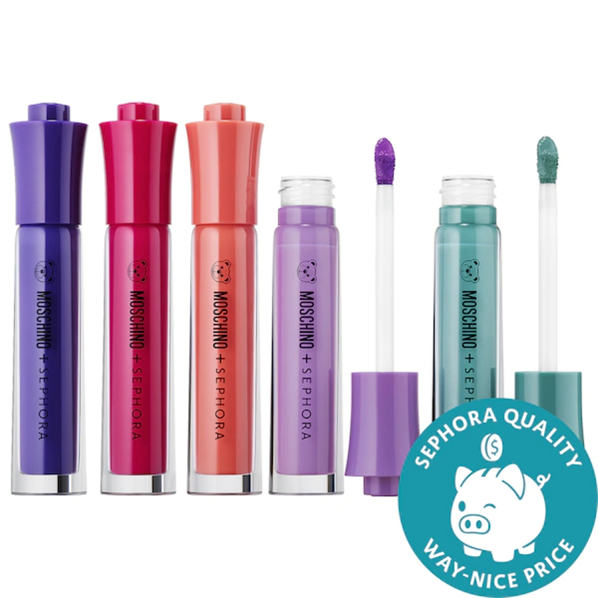 Moschino + Sephora Liquid Markers Lip Set