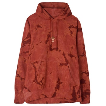 Story Mfg. Bloom Madder Red Crush Hoodie