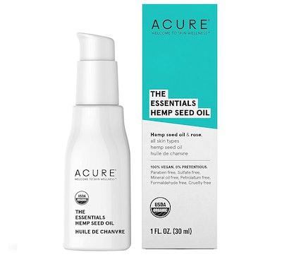 Acure The Essentials Hemp Seed Oil, 1 fl. oz.