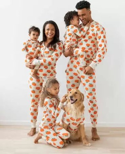 Family Match Seasonal Jack O'Lantern Pajamas