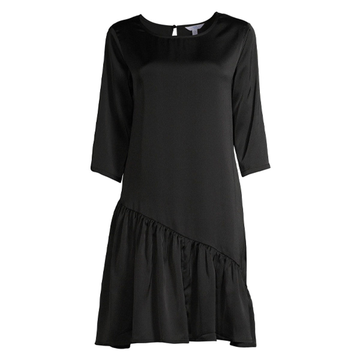Asymmetrical Ruffle Dress